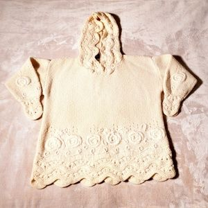 Vintage Bergdorf Goodman Cable Knit Sweater